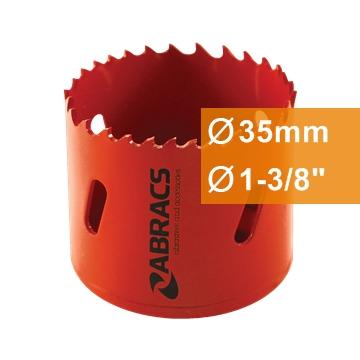 Gręžimo karūnos bi-metalinės 35mm