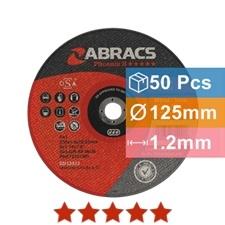 Abracs diskas metalo atpjovimui 125x1.2x22.23mm Phoenix II Abracs