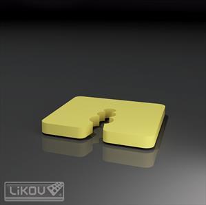 Pagrindo išlyginimo elementai 5 mm