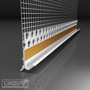 PVC profilis cokolis plius 2,5 m