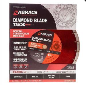 Abracs deimantinis diskas betonui 300x20mm Dynamo Abracs