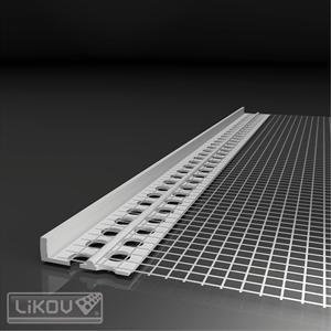 PVC užbaigimo profilis 3mm, 2m.