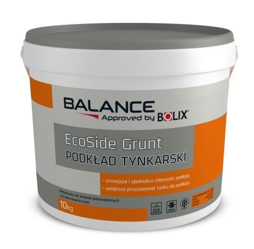 BOLIX BALANCE tinko gruntas ECOSIDE baltas 5 kg
