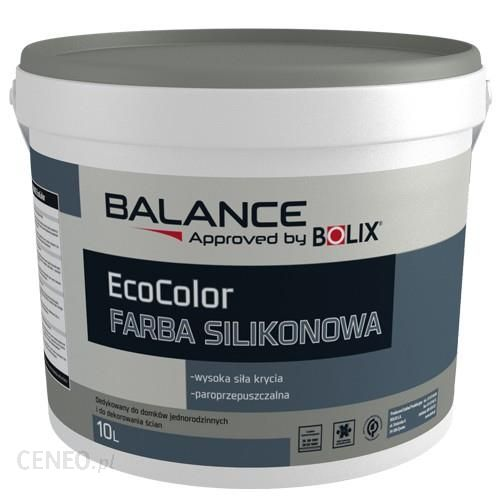 BOLIX BALANCE silikoniniai dažai ECOCOLOR 2,5 L.