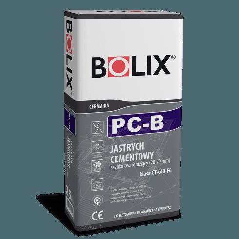 BOLIX PC-B 25 kg greitas išlyginimo sluoksnis 20-70mm