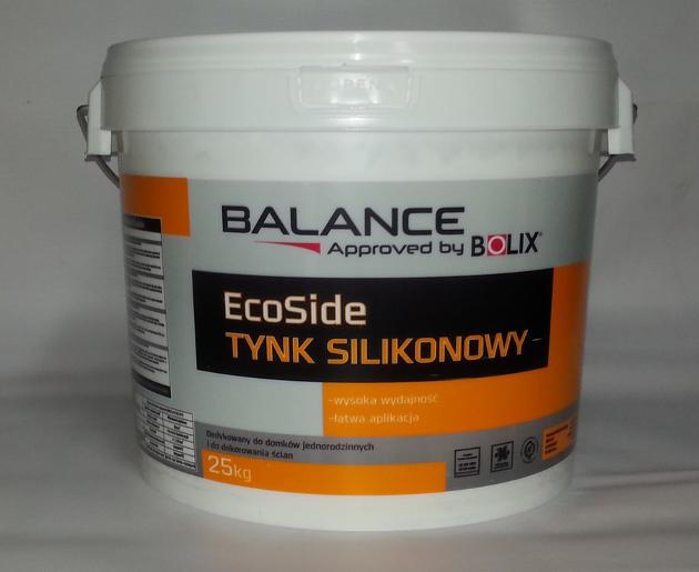 BOLIX silikoninis tinkas BALANCE 1.5mm samanėlė 25 kg