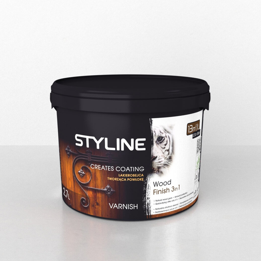 WOOD STYLE SATIN 3IN1 FINISH 0.9l